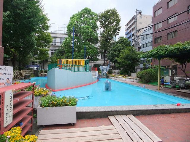 越前掘児童公園 徒渉池