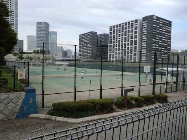 豊海運動公園 テニスコート