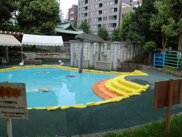 鉄砲洲児童公園 徒渉池