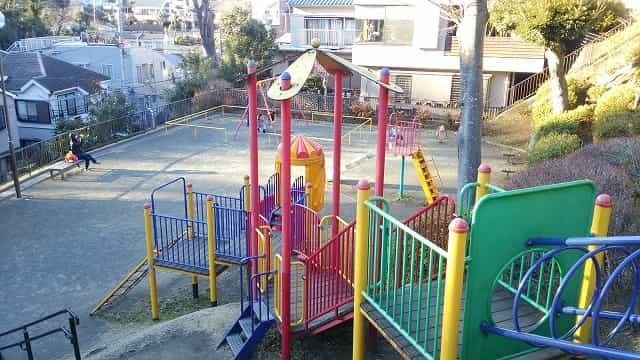 横浜市立野毛山公園 子供の遊び場