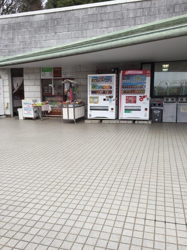 公園入口・売店・お手洗い 売店もあるので遊び疲れたら一休み!お菓子や飲み物が充実しているので助かりますよね★