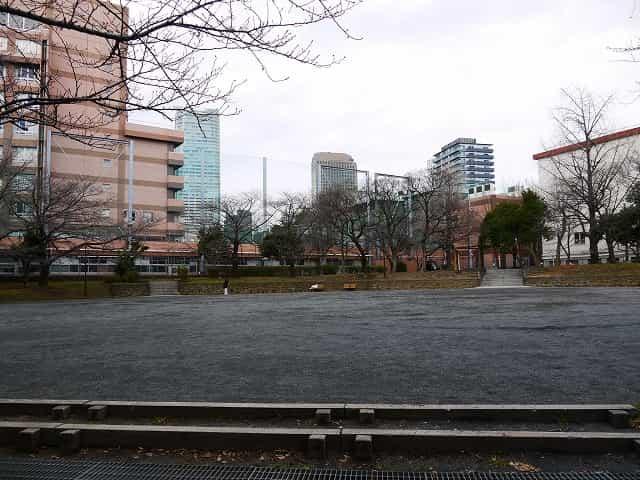 芝公園 多目的運動広場・集会広場