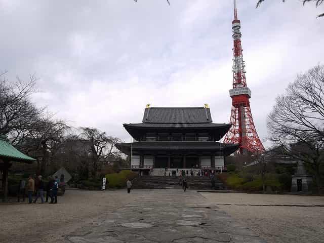 芝公園 増上寺