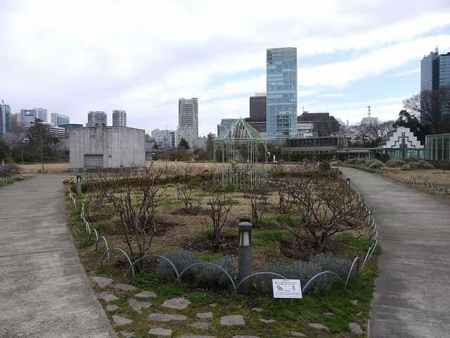 芝公園 ザ・プリンス パークタワー東京の広場