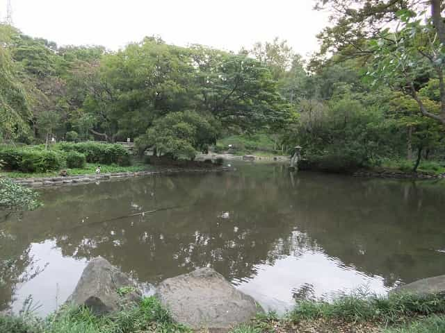 有栖川宮記念公園 日本庭園