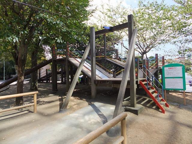 笄公園 遊具