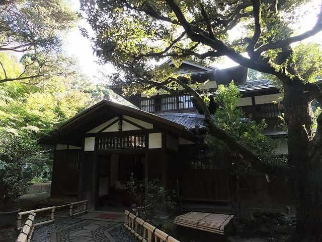 駒場公園 旧前田邸 和館