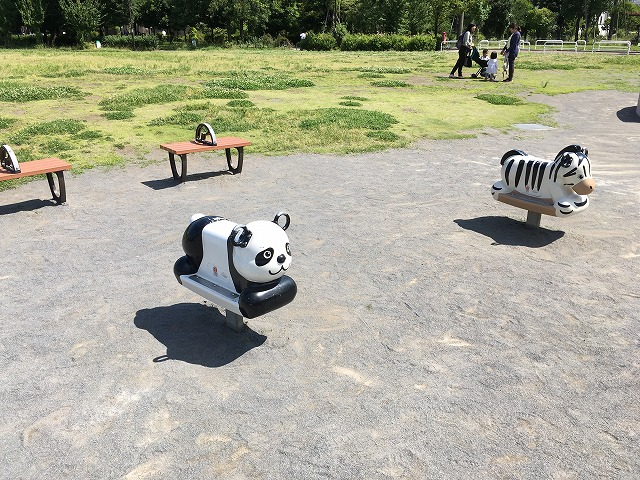 遊び場 パンダ