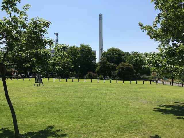 中目黒公園 いこいと展望の広場