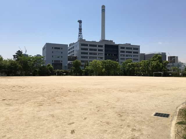 中目黒公園 健康とスポーツの広場