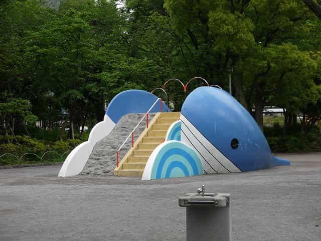 隅田公園(台東区) 子供コーナー