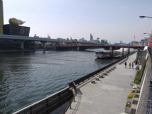 隅田公園(台東区) TOKYO CRUISE(東京都観光汽船)