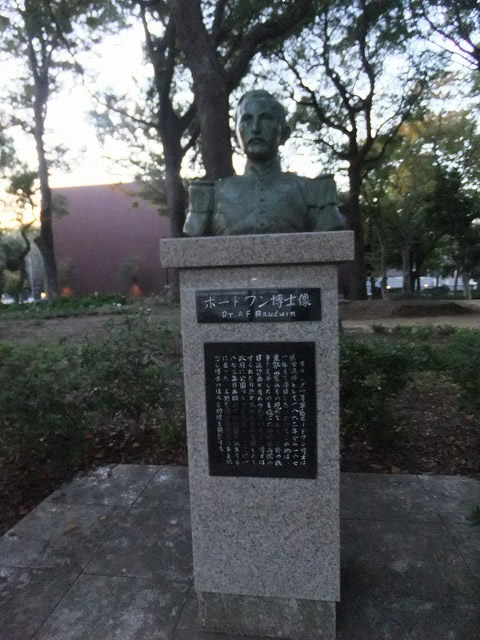 銅像・碑・墓所 ボードワン博士像