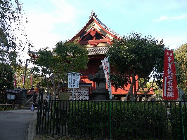 上野恩賜公園 清水観音堂