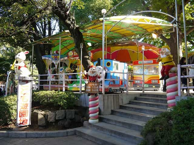 上野恩賜公園 上野こども遊園地