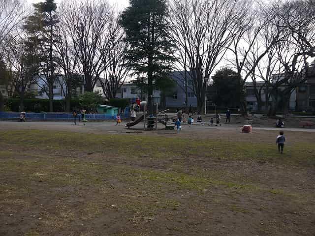 東板橋公園・こども動物園 芝生広場