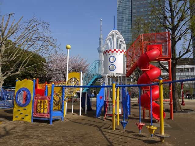 錦糸公園 遊具
