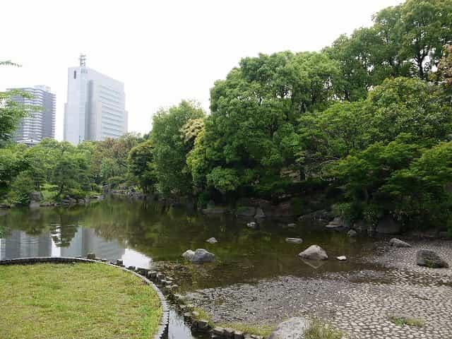 隅田公園(墨田区) 日本庭園