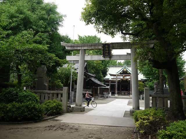 隅田公園(墨田区) 牛嶋神社