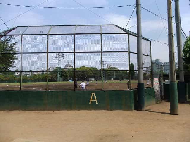 哲学堂公園 施設 野球場