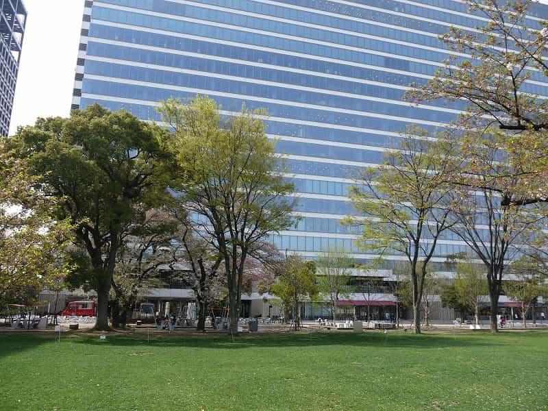 中野四季の森公園(中野セントラルパーク) 多目的広場