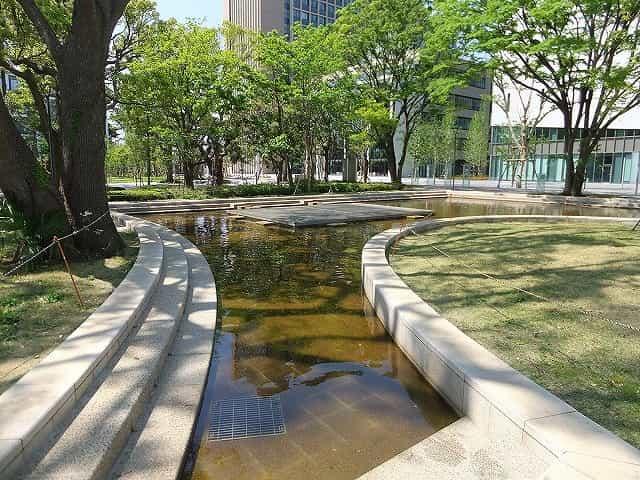 中野四季の森公園(中野セントラルパーク) 池・せせらぎ