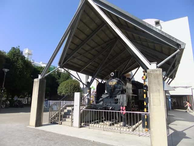 紅葉山公園 機関車