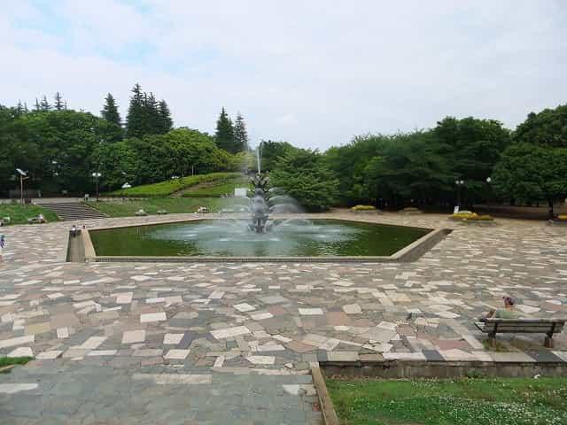 世田谷公園 噴水広場
