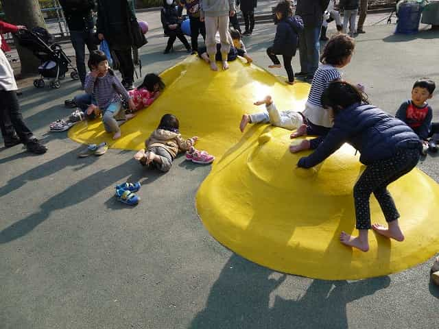 羽根木公園 児童遊園