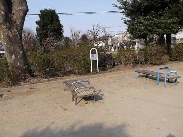 羽根木公園 健康遊具ランド