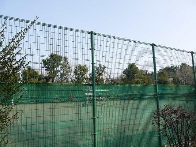羽根木公園 野球場・テニスコート