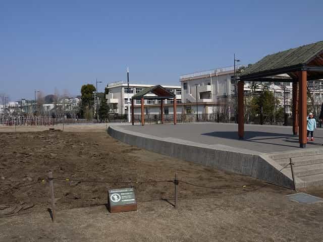 二子玉川公園 エントランス広場