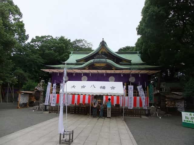 和田堀公園 大宮八幡宮