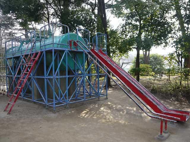 蚕糸の森公園 遊びの広場