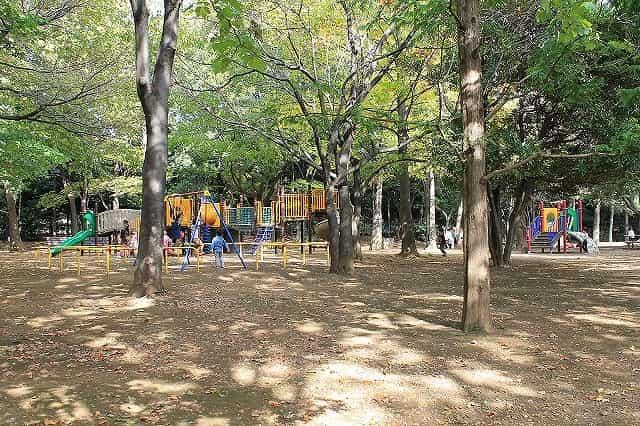 井草森公園 遊具ゾーン