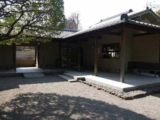 大田黒公園 休憩室