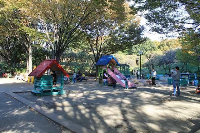 しながわ区民公園 子供の遊び場