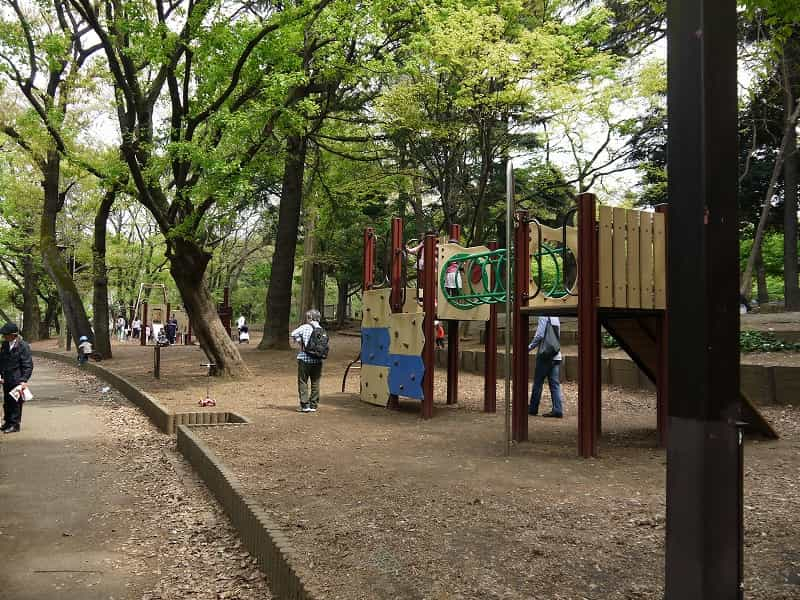 林試の森公園 冒険広場