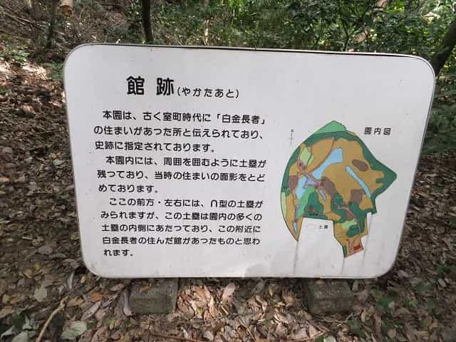 附属自然教育園 館跡