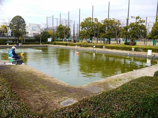 行船公園 釣り池