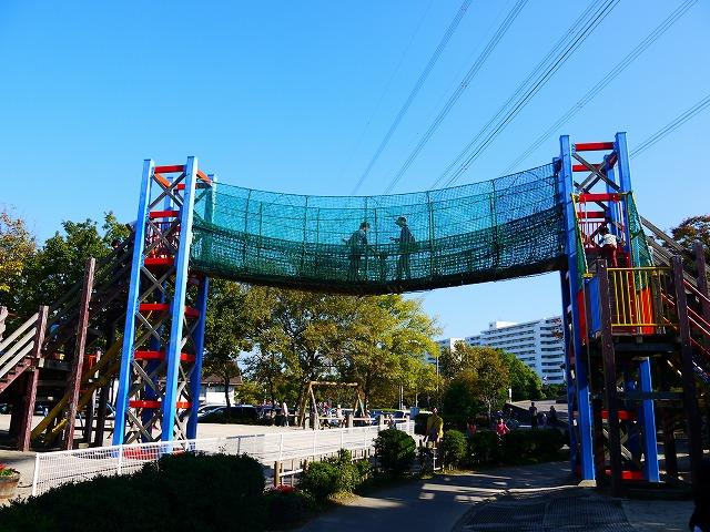 富士公園 フィールドアスレチック