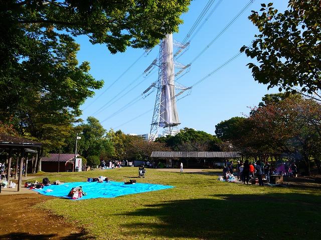 富士公園 少年キャンプ場・バーベキュー場