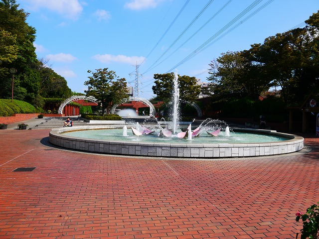 フラワーガーデン 噴水・水遊び