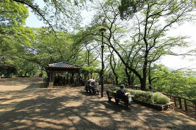 多摩川台公園 展望広場