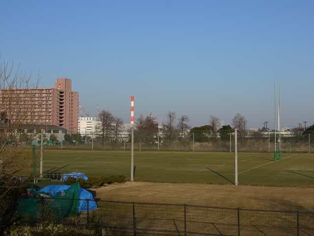 辰巳の森海浜公園 少年広場・ラグビー練習場