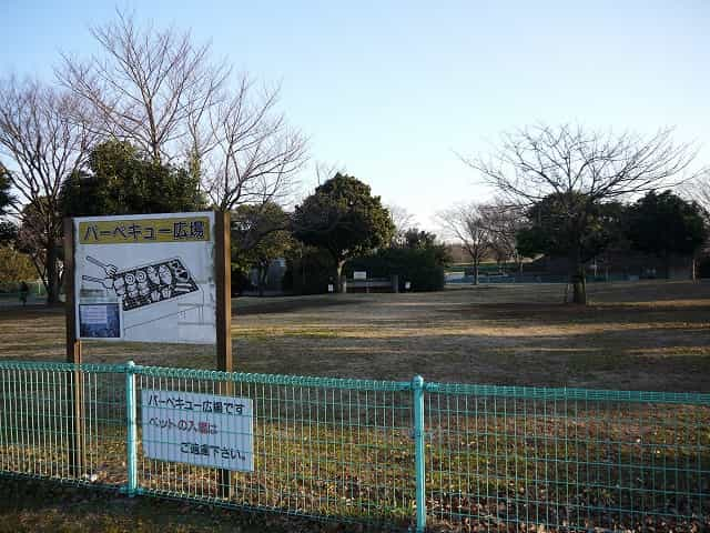 辰巳の森海浜公園 バーベキュー広場