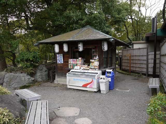 清澄庭園 売店