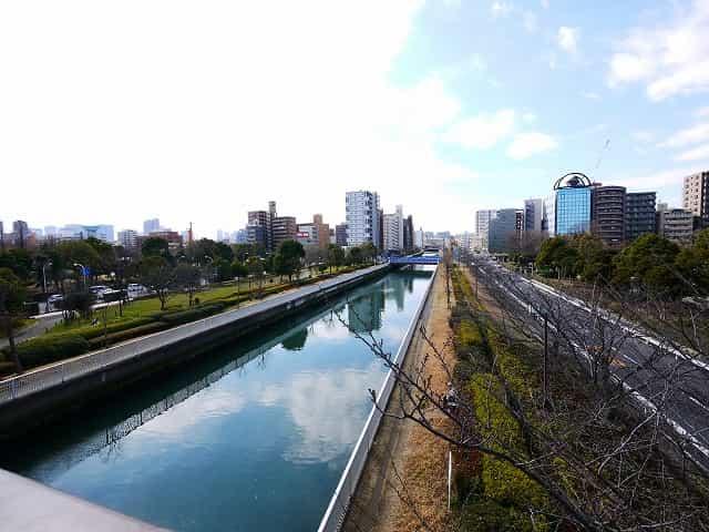木場公園 仙台堀川