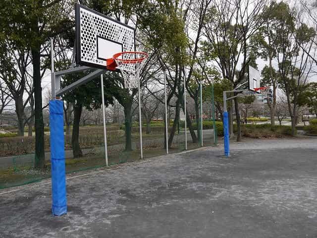 猿江恩賜公園 健康広場 バスケットリング