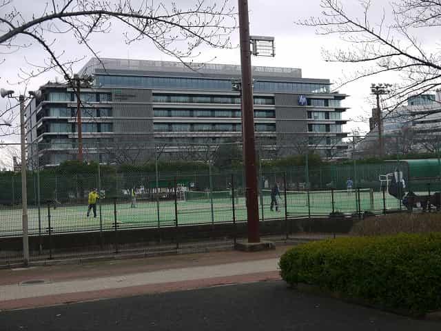 猿江恩賜公園 テニスコート